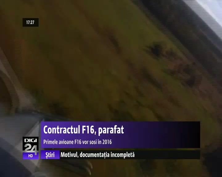 VIDEO | Primele avioane F16 ajung în România peste trei ani