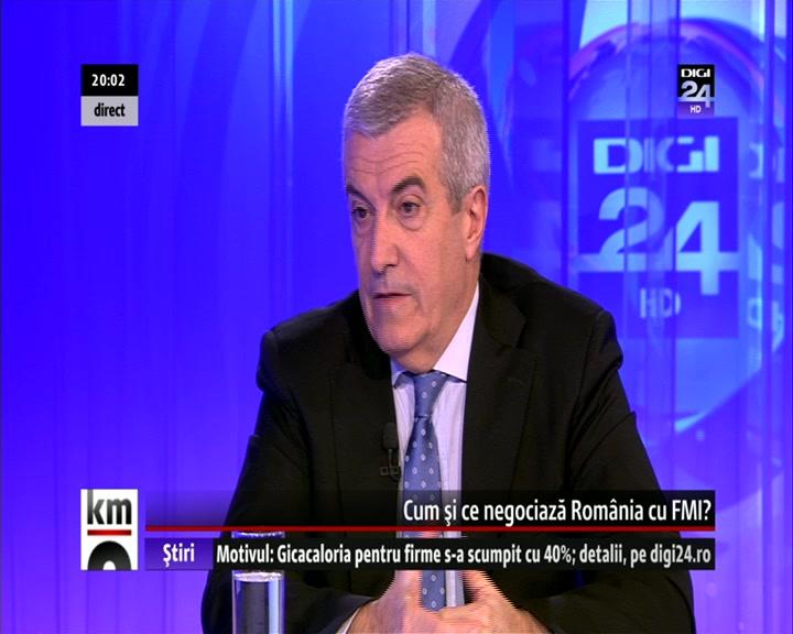 VIDEO   Măsuri de relansare a economiei în viziunea fostului premier C. P. Tăriceanu