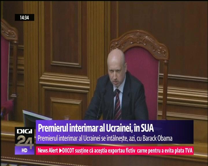 VIDEO   Ultimatum. Autorităţile de la Kiev cer Parlamentului regional din Crimeea să anuleze astăzi referendumul